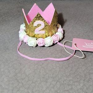 💚5/$20💚 2nd Birthday Crown 👑